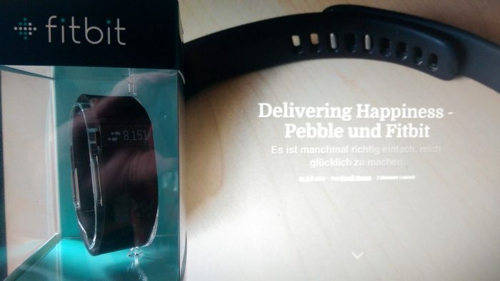 Fitbit Charge: Delivering Happiness