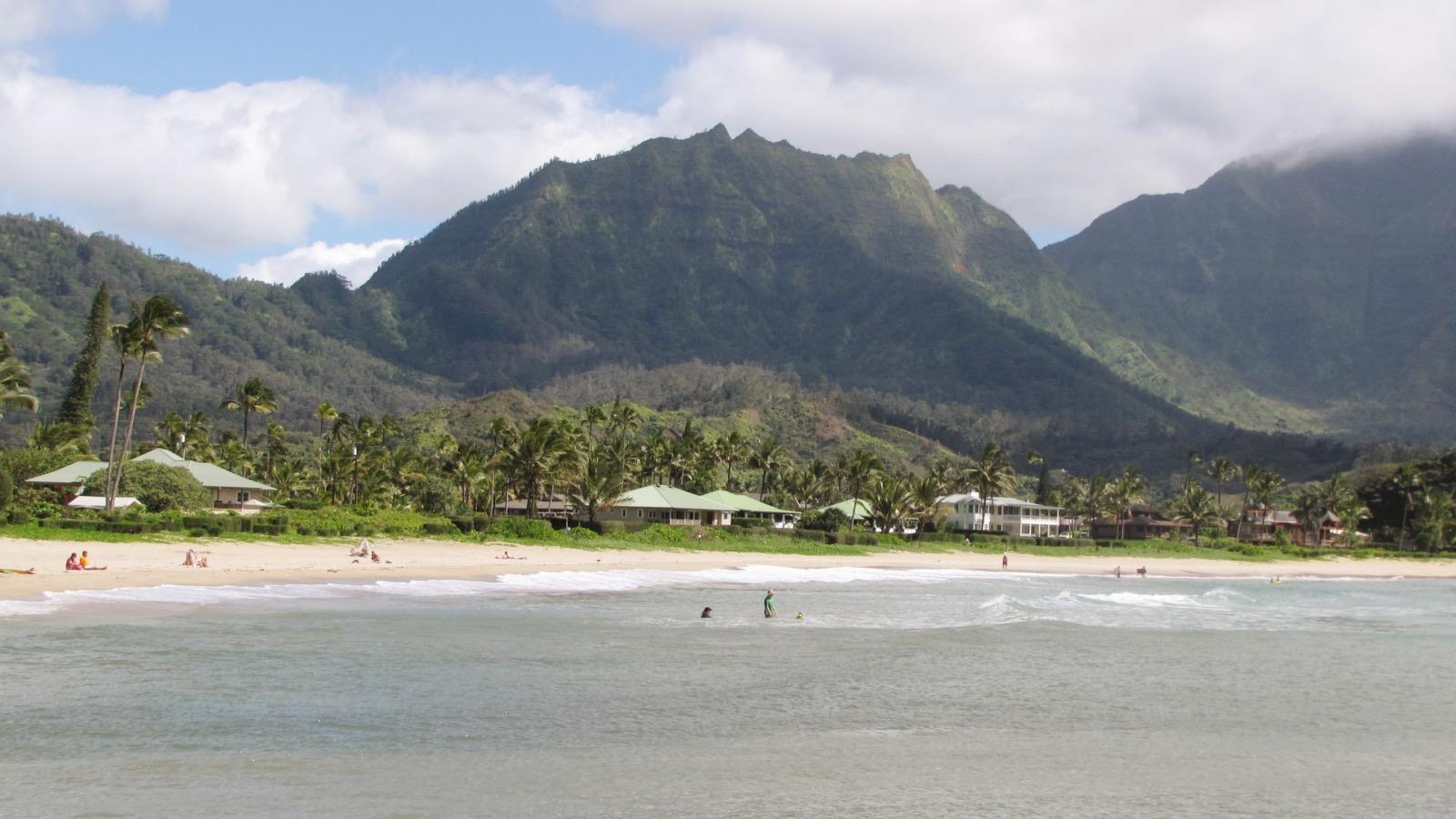 Hanalei Beach, Kaua'i