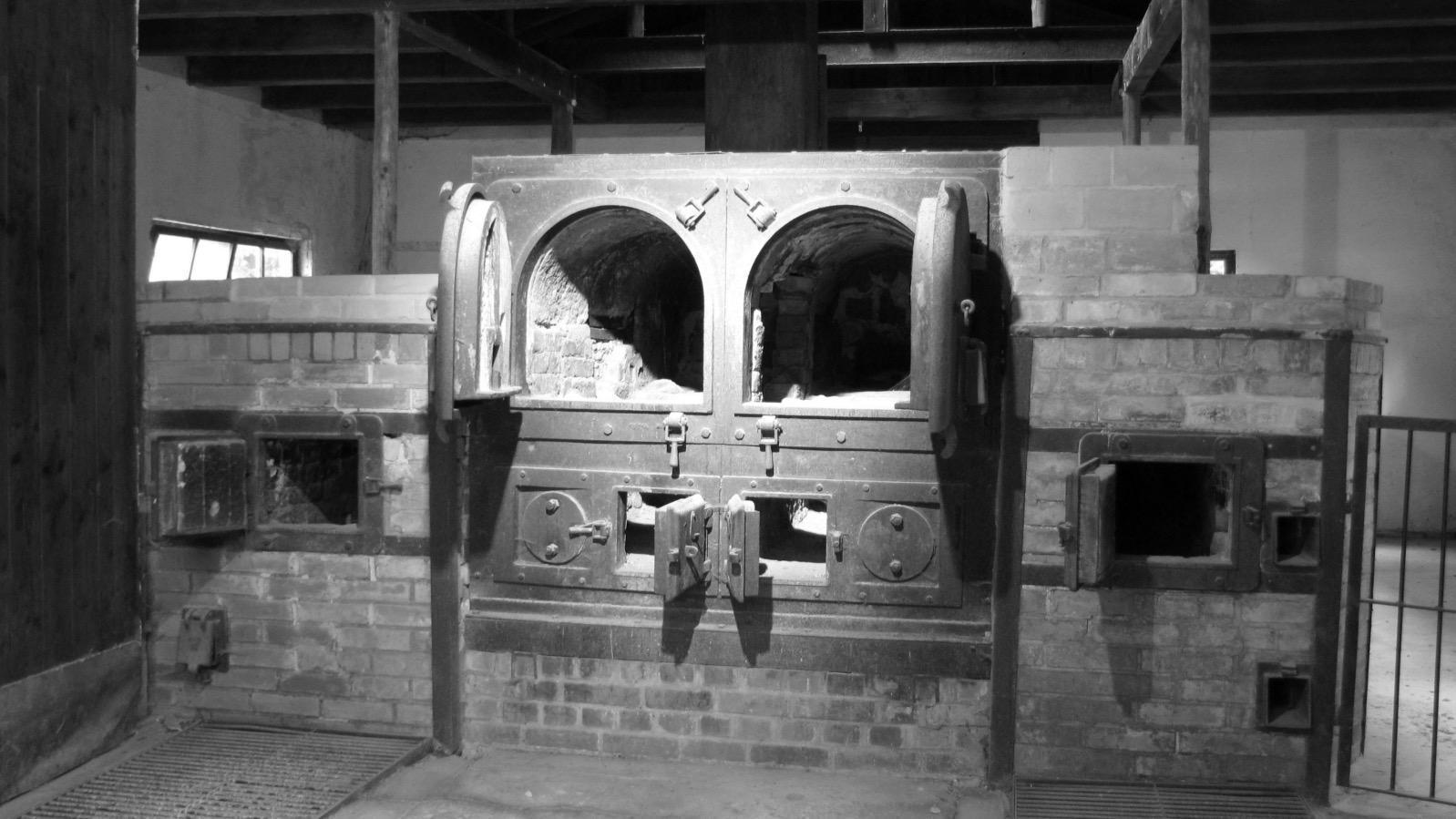 Krematorium Dachau, aufgenommen am 3. Mai 2011