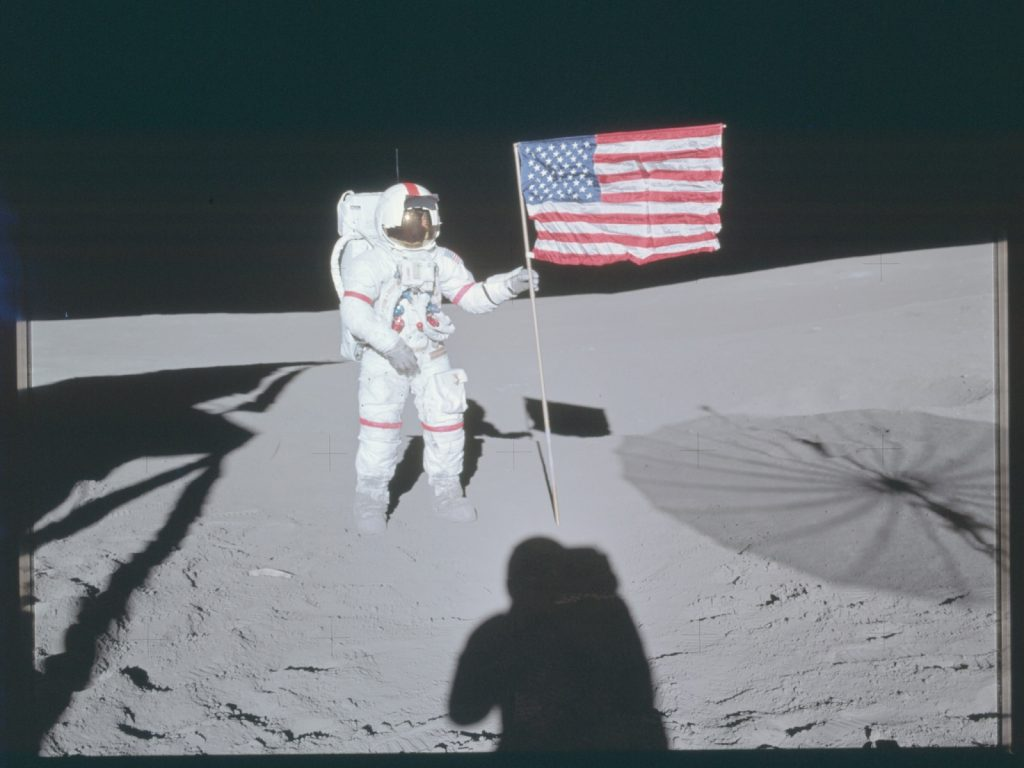 AS14-66-9232, The Project Apollo Archive, Public Domain