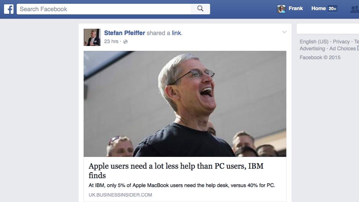 Tim Cook (laughing)