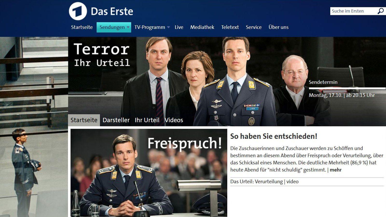 Terror - Ihr Urteil (Bildquelle: Das Erste)