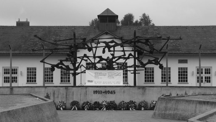 KZ-Gedenkstätte Dachau - Nie wieder.