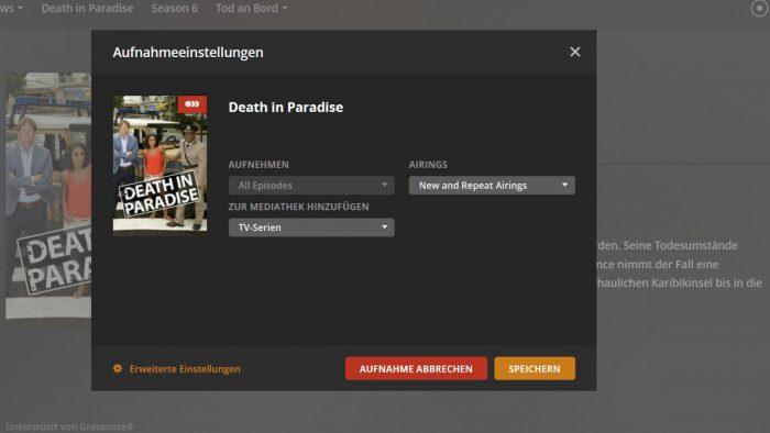 Digitaler Videorecording mit Plex und HDHomreRun