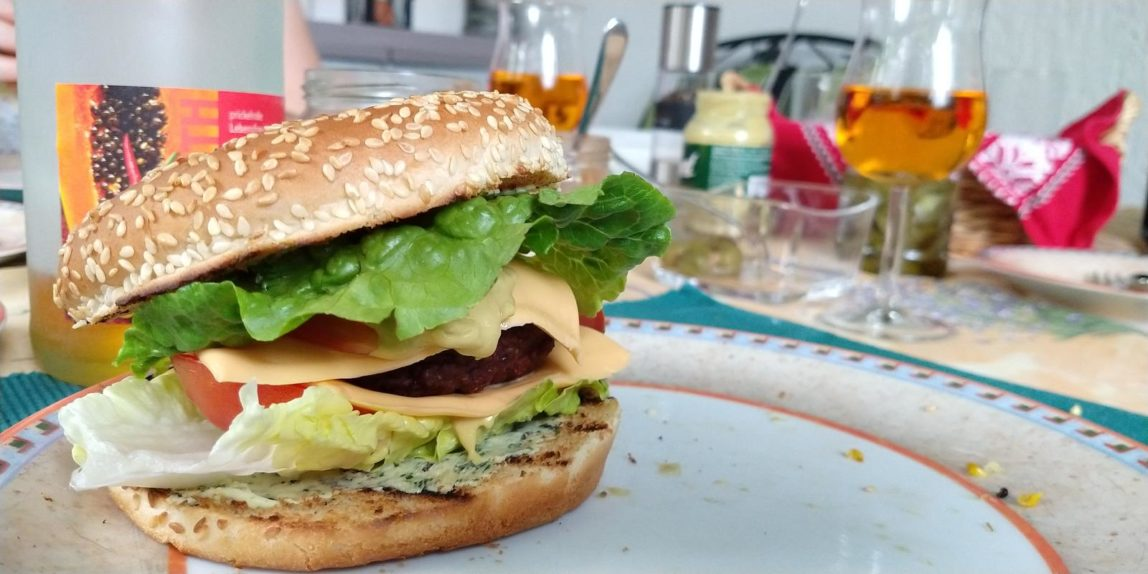 Original Entspannende Burger