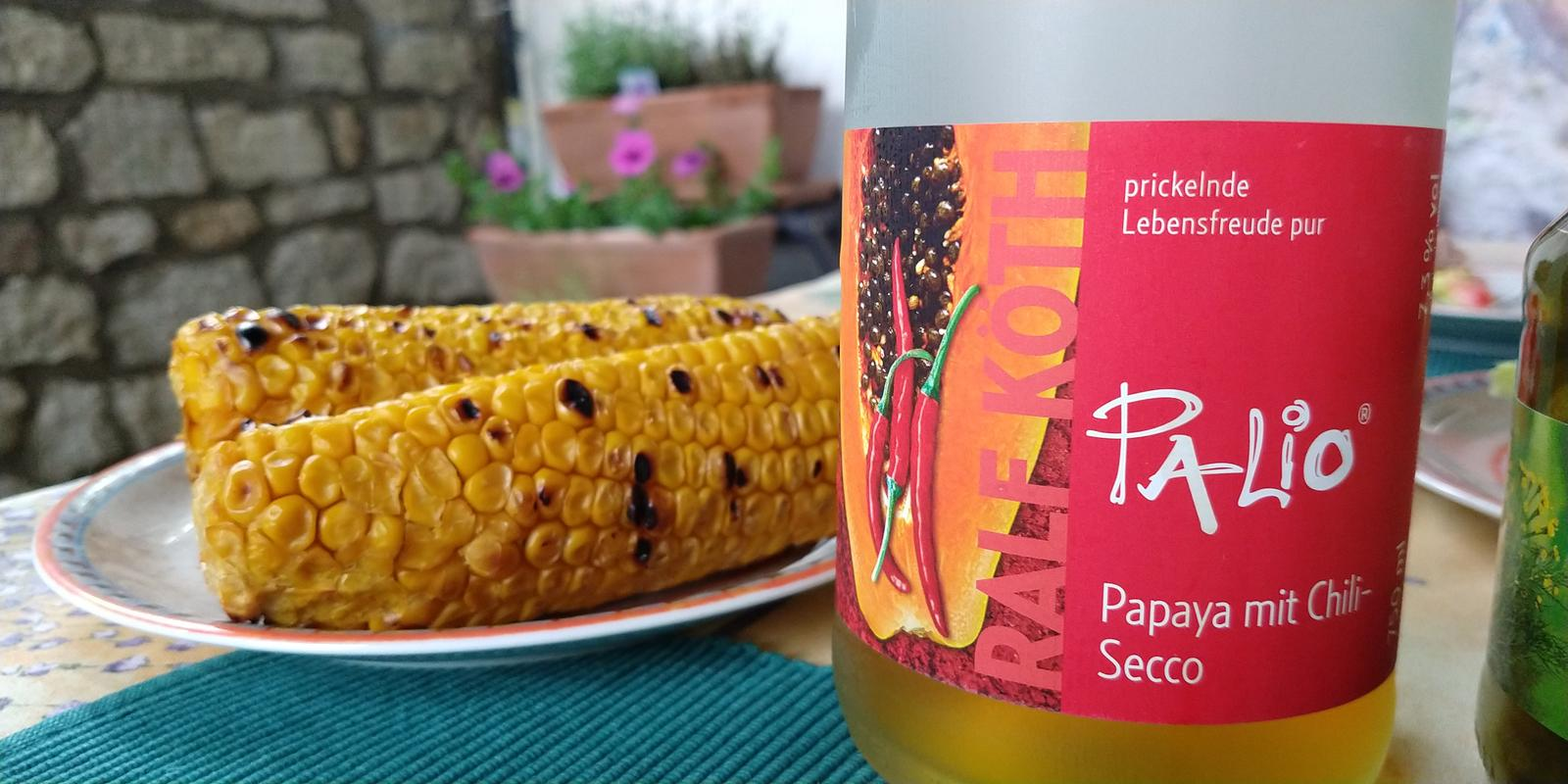 Papaya mit Chili-Secco von Palio