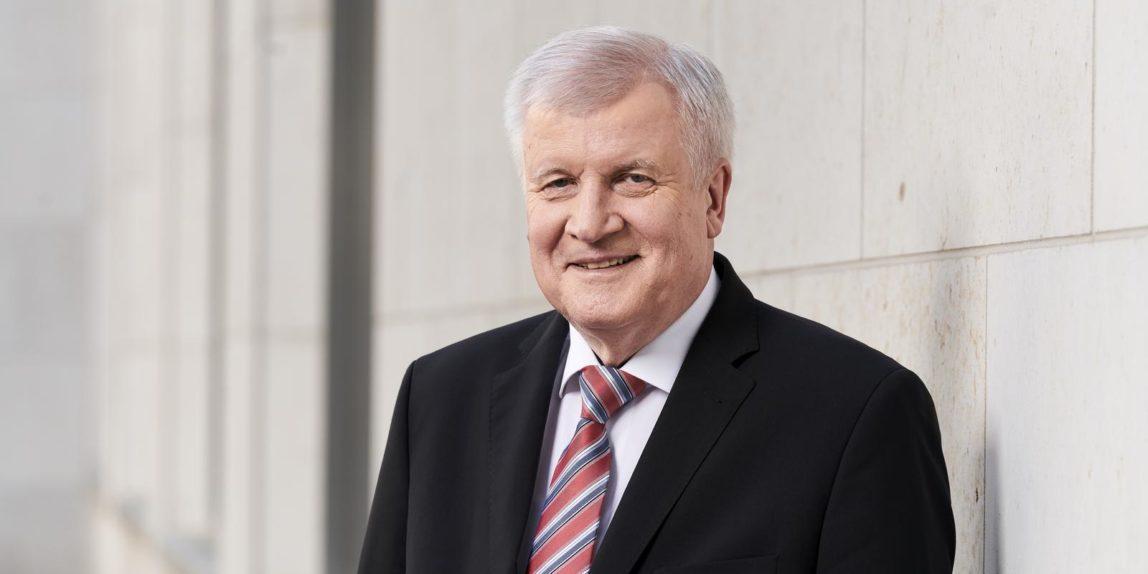 Bundesinnenminister Horst Seehofer (Pressefoto des BMI; Quelle: Henning Schacht, )
